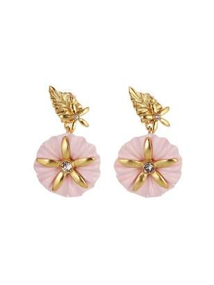 Oscar de la Renta Morning Glory Earrings