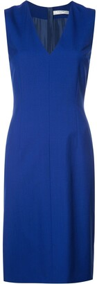 Lanvin v-neck shift dress