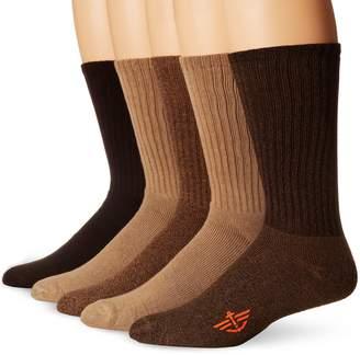 Dockers Big Tall 5 Pack Big and Tall Cushion Comfort Sport Crew Socks