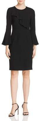 Elie Tahari Sibyl Ruffle-Trim Dress