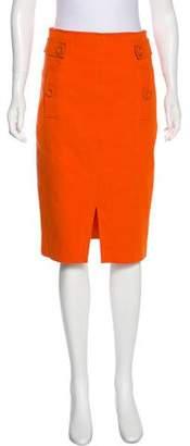 Magaschoni Knee-Length Pencil Skirt