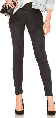 Yummie by Heather Thomson Signature Faux Suede Legging