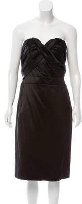 Christian Dior Satin Mini Dress