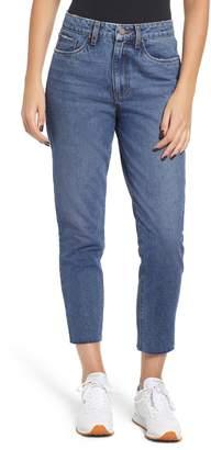 BP High Waist Straight Leg Crop Jeans