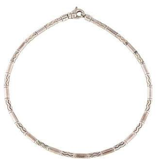 Tiffany & Co. Zigzag Etched Bead Collar