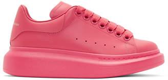 Alexander McQueen Pink Oversized Sneakers