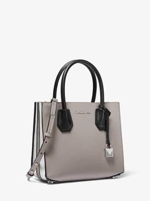 214766139a668d MICHAEL Michael Kors Mercer Medium Tri-Color Leather Accordion Crossbody Bag