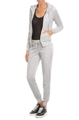Juicy Couture J Bling Velour Hoodie $169 thestylecure.com