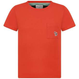 Paul Smith JuniorBoys Summer Red Top