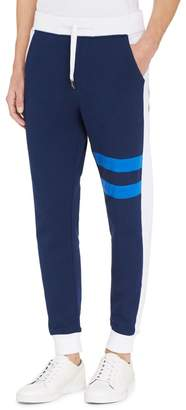 Calvin Klein athletic collage striped sweatpants