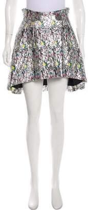 Christian Dior Metallic Jacquard Skirt