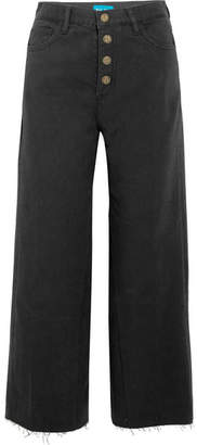 MiH Jeans Caron High-rise Wide-leg Jeans - Black