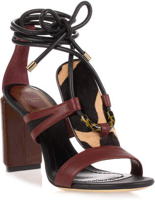 Christian Dior Tribe 80 leather sandal