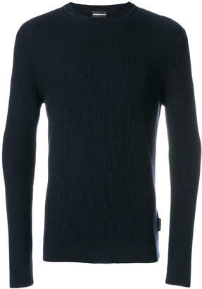 Emporio Armani crew neck sweater