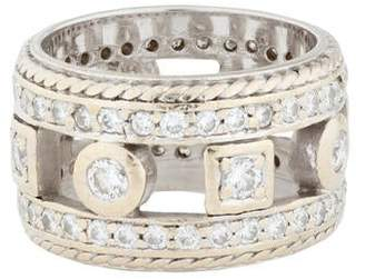 Penny Preville 18K Diamond Wide Band