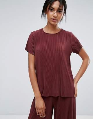 Just Female Quint Plisse T-Shirt