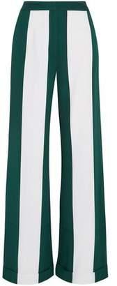 Monse Striped Silk-Blend Wide-Leg Pants