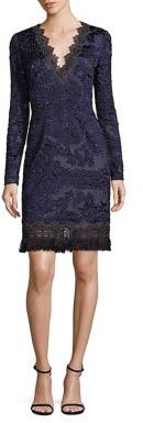 Elie Tahari Camden Lace Dress $598 thestylecure.com