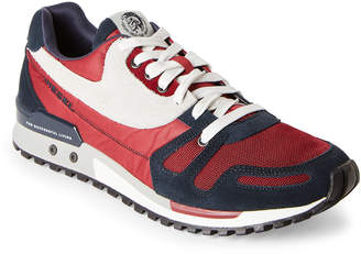 Diesel Red & Blue High Speed Absolute Jogger Sneakers