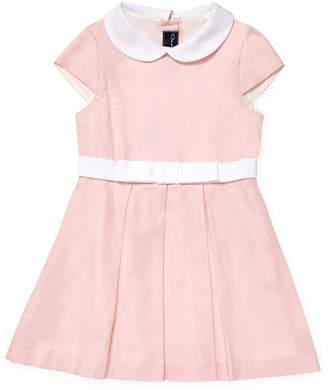 Oscar de la Renta Cotton Cap Sleeve Dress