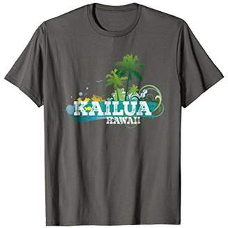 Kailua Hawaii T-shirt Travel Vacation Tropical Tee