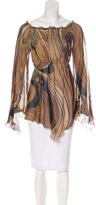 Max Mara Silk Patterned Tunic