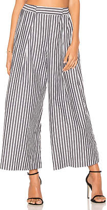 KENDALL + KYLIE KENDALL + KYLIE Shirting Pant in Black & White $175 thestylecure.com