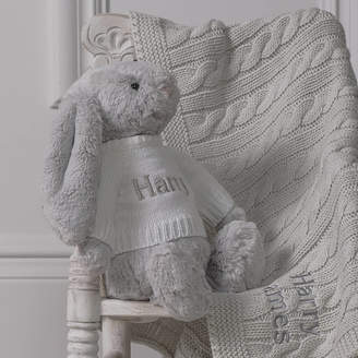 That's mine personalised embroidered gifts Personalised Baby Blanket And Bashful Bunny Toy