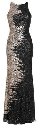Mac Duggal Cowl Back Sequin Gown