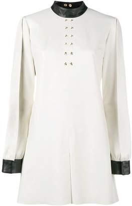Skiim June leather trimmed dress