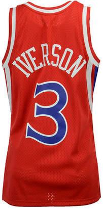 Mitchell & Ness Men Allen Iverson Philadelphia 76ers Hardwood Classic Swingman Jersey