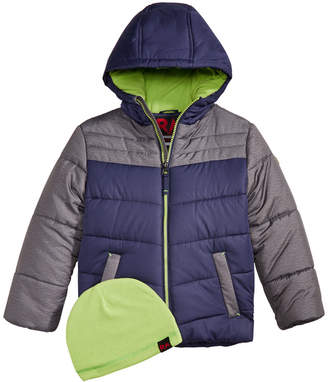 Roland Mouret 1958 Toddler Boys Norris Colorblocked Hooded Jacket with Hat