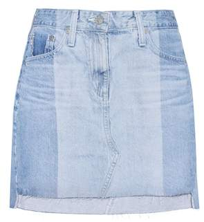 AG Jeans The Sandy denim miniskirt