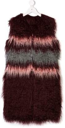 John Richmond Kids faux-fur gilet