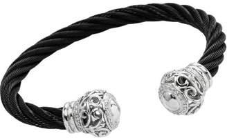 Burgmeister Jewelry Women's Bangle Bracelet 925 Sterling Silver Cubic Zirconia JBM 3017–521