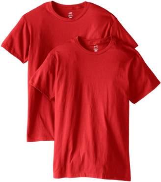 Hanes Men's Nano Premium Cotton T-Shirt Pack of 2