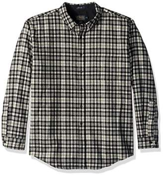 Pendleton Men's Long Sleeve Button Front Fitted Fireside Shirt