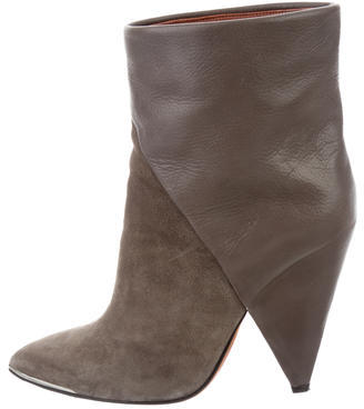 IROIro Pointed-Toe Ankle Boots