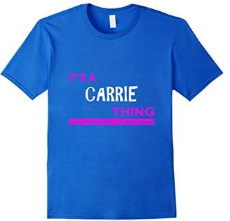 """""""It's a Carrie Thing"""