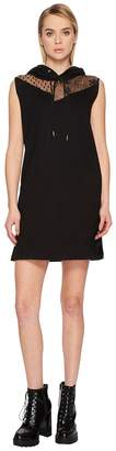 McQ Sleeveless Hoodie Dress Women's Dress