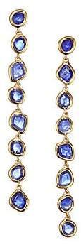 Monica Vinader Women's Kyanite & 18K Gold-Plated Drop Earrings