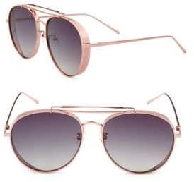 Gradient 59MM Aviator Sunglasses