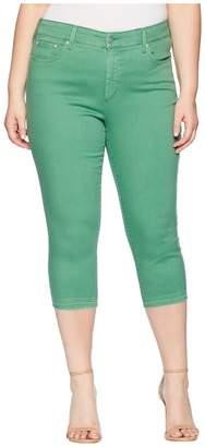 NYDJ Plus Size Plus Size Capris w/ Released Hem in Cactus United States Women's Jeans