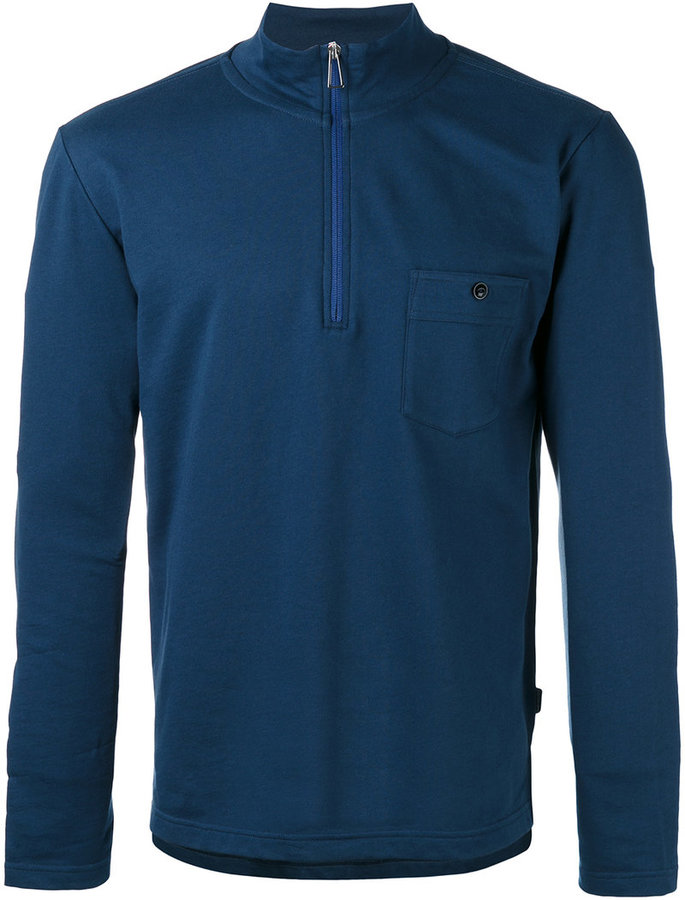 Paul SmithPs By Paul Smith zip placket top