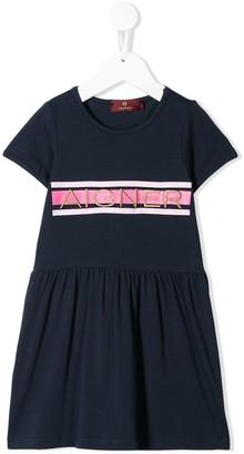 Aigner Kids stripe-print t-shirt dress