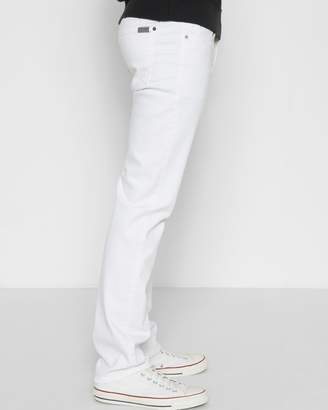 7 For All Mankind Luxe Performance Slimmy in Off White