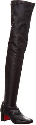 Christian Louboutin Sursamoto 55 Leather Over-The-Knee Boot