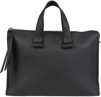 Orciani Pebbled Tote