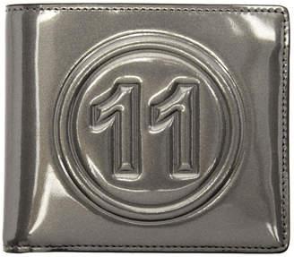 Maison Margiela Grey Metallic Wallet