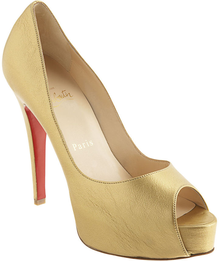 Christian Louboutin Hyper Prive - Gold